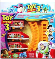 Wholesale Assembly Thomas Toy Story Electric Train Track Rail Car Racing Toys Children s Gifts