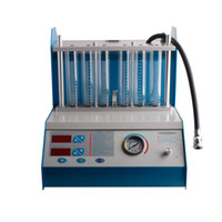 Wholesale fuel injector tester amp cleaner machine A360 jars cylinder cleaner and testing meanwhile
