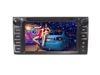 Wholesale Toyota Special Double DIN Car DVD Player Car Radio GPS Navigation BT Steering Wheel Control Dual Zone RDS AUX