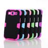 Glow In Dark Hybrid plastic silicon Case for Samsung Galaxy S3 i9300