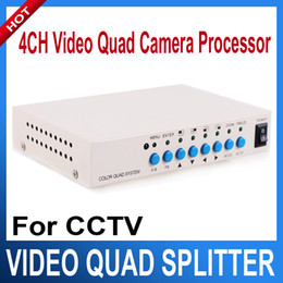 Wholesale 4 Channel CH Video Quad Camera Processor Switcher CH COLOR VIDEO QUAD PROCESSOR