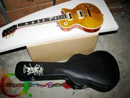 Wholesale Custom Shop one piece neck fret bingding slash Electric guitar New Style