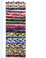 Europe and the United States football necklace - 600pcs best quality Rope Healthy Necklaces Titanium braid Twist Tornado baseball football unversity quot quot quot
