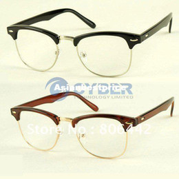 Wholesale New Fashion Korean Framed Glasses Plain Glass Spectacles
