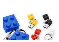 Wholesale lego brick building block USB memory stick U disk gb flash drive thumbdrives
