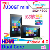 Wholesale CHpost Cube U30GT mini andorid4 tablet PC quot GB RAM GB WIFI HDMI Dual Camera MP
