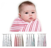 Wholesale Xmas Gift For New Born Baby Muslin Swaddle Aden Anais Regurgitate milk Blankets Towel EMS free ship