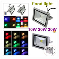 Wholesale 16 colour change RGB led floodlight W w w rgb led Aluminum flood light Waterproof IP65 led street lamp Degrees
