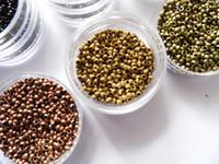 1000Pieces plus petit Micro NANO anneaux/liens/perles pour Nano Hair Extensions outil kit 6 couleurs en option 2,5 mm de diamètre