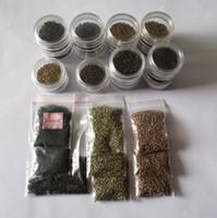 1jar=1000pieces plus Petit Micro-NANO-Anneaux/Liens/Perles Pour les Nano-Extensions de Cheveux tool kit 6 Couleurs en Option, de 2,5 mm de diamètre