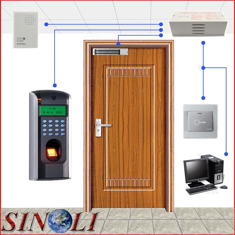 2018 Complete Diy Single Door F7 Biometric Fingerprint
