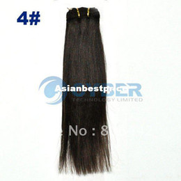Wholesale quot Wide Human Hair Weft Extensions Straight hair Size
