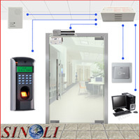 Wholesale Complete DIY Single Door F7 Biometric Fingerprint Access Control System for Glass Door
