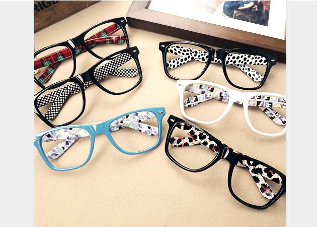 new mixed colors glasses frame for men and women fashion eyeglasses frame without lenses pc frame mix colors 20pcslot free shipmentwlj929