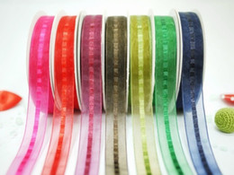 Wholesale Hot Beautiful Wedding decorations Ribbons Colorful Ribbons Gift Ribbon