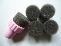Cheap New Arrive Sponge Nail Art Set Stamping Art Kit With 5 Sponges Free Shipping #091