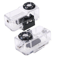 Wholesale New arrival Water Protect Waterproof Box Case Cover for Mini DVR Camera MD80 Freeshipping Dropshippi GA3035
