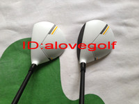 Wholesale OEM quality new model golf clubs TMRBZ golf woods Stage golf fairway woods with g stiff shaft ps free ship high quality