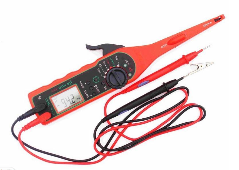 Automotive Wire Tester : Multi meter tester auto circuit volt