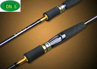 Wholesale High Carbon Spinning Fishing Rods M with Two Tips M MH Power