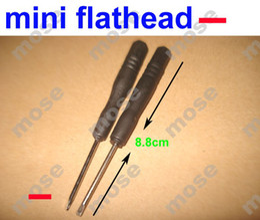 Wholesale Mini destornillador ranurado destornillador recto Flathead tipo ranura del destornillador para el iPhone del precio de fábrica del teléfono celular