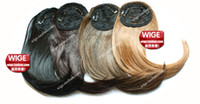 Wholesale Wig Long Straight Fringe Can Be Modified Colour For Choose