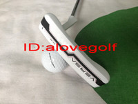 S golf grip - New golf clubs RH ODS VERSA golf putter white colors inch with rubber golf grips high quality free ship