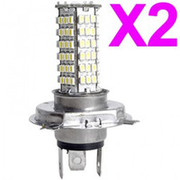 Wholesale 2pc Car H4 SMD LED Head Light Headlight Bulb Lamp V