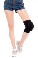 Knee Support   High quality girl dance riding hip-hop practice thicker sponge sports safety leg knee protective pads kneepads guard support protector
