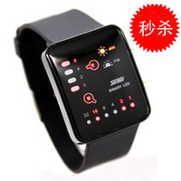 Wholesale Led watch boys male strap fashion waterproof mens watch
