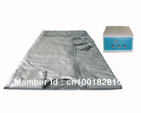 Wholesale 3 zones FIR sauna wrap infrared slimming blanket Infrared sauna loss weight blanket