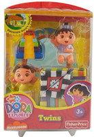 Wholesale New Arrival Fisher Price Diego Dora Doll Models Kid s Plastic Toy Dolls