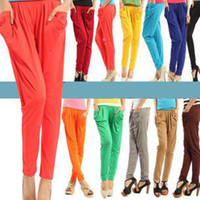Wholesale Korean Design Lady Harem Pants Trousers Bottoms Leggings for four seasons