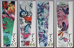 Wholesale Lowest Price Fish protection sun tatoo Sleeves radiation protection tattoo sleeves arm tattoo designs personal tattoo sleeve