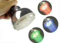 Wholesale Adjustable Water Temperature Senor Colors Change LED Shower Bathroom Head Shower LED Light Bathroo