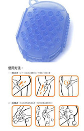 Wholesale Hot Taiwan Self Bathing Massage Brush Eliminates Aging Horn Cell Lose weight massage tools pieces