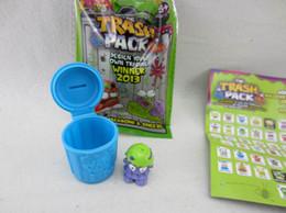 Wholesale 360pcs trash pack models mix New Trash rubber toys funny toys box