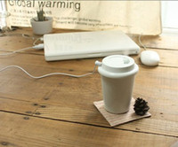 Wholesale Fuloon Coffee Cup Style Mini USB Fresh Car Air Humidifier Diffuser Air Purifier D090