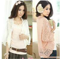 Wholesale 2013 New Arrive Lovely Style Hollow Out Knitted Wraps Large Size Color ss13050929