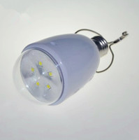 Wholesale Retali x2pcs W E27 V Emergency light bulb led SMD Power failure emergency lights Tent camping lamp