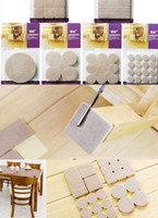 Wholesale Soft Felt furniture Floor scratch Protector Pads self adhesive Tables Chair Leg