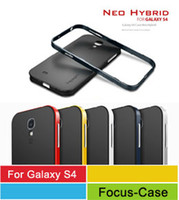 Wholesale Galaxy S4 SGP NEO Hybrid Cell Phone Cases For Samsung Galaxy S4 S IV I9500 With Retail Package Colors Freeship