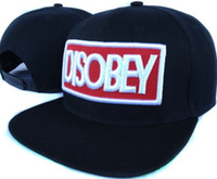 Wholesale Newest DISOBEY Snapback Hats Snapbacks Hat snap backs memphis Tennessee merrillville Indiana USA Ontario Canada osaka fu Japan caps
