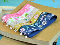 Wholesale Flower and Petals Print Grosgrain Ribbon inch inch inch inch yard colors eone