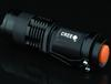 20 Pcs Lot Hot Sales CREE Q5 LED 7W 300lm 3-Mode Adjustable Focus Zoomable Mini Flashlight Torch Water-Resistant Flashlight