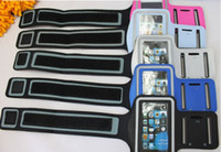 Fashion Armband For Apple iPhone4 4S 5 Sports Armband with S...