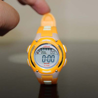 Wholesale mix order HighQuality Color Block LED Water proof Boys Girls Sport Watch eg61