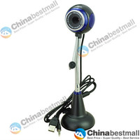 Wholesale 10 Mega Pixel PC USB HD Webcam web cam Camera with Microphone of Ball for PC Computer Laptop Notebook