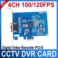 Wholesale 4 Ch FPS Digital Video Recorder PCI E DVR Card for home CCTV Surveillance