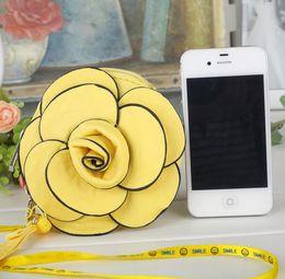 Wholesale Women s handbags Small Pouch Rose flowers purse debris Pouch Cell phone pocket